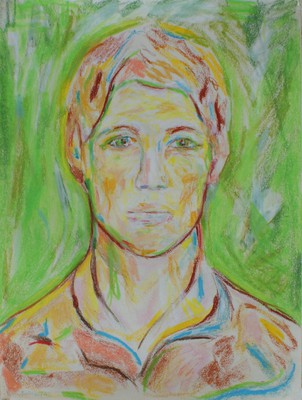 Self portrait after lost selvportrait