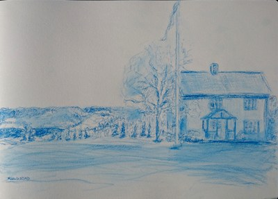 Trygve's house at Syversveen
