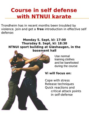 Self Defence Course