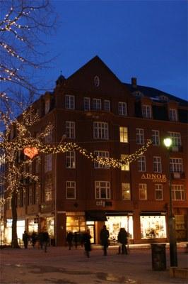 Hjørnegård Nordre gate og Dronningens gate