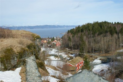 View from Sverresborg towards north